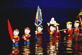 Hanoi by Night with Dinner & Water puppet show